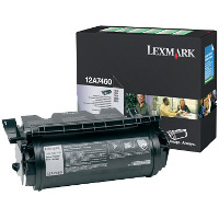 Lexmark 12A7460 Black Return Program Laser Cartridge