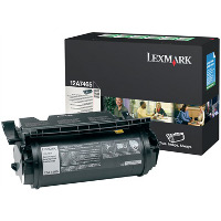 Lexmark 12A7465 Black Extra High Yield Return Program Laser Cartridge