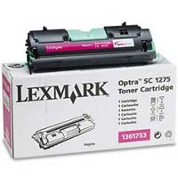 Lexmark 1361753 Magenta Laser Cartridge