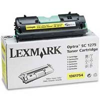 Lexmark 1361754 Yellow Laser Cartridge