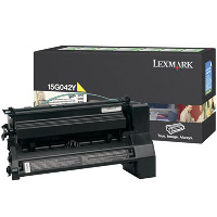 Lexmark 15G042Y High Capacity Yellow Laser Cartridge