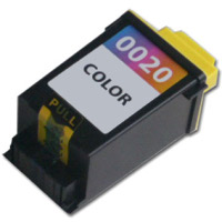 Lexmark 15M0120 ( Lexmark #20 ) Color Professionally Remanufactured High Resolution Printhead Discount Ink Cartridge