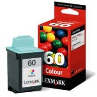 Lexmark 17G0060 ( Lexmark #60 ) Color High-Resolution Discount Ink Cartridge