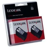 Lexmark 18C0533 ( Lexmark Twin-Pack #32 ) Discount Ink Cartridges