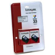 Lexmark 18C0534 ( Lexmark Twin-Pack #33 ) Discount Ink Cartridges