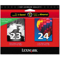 Lexmark 18C1571 Discount Ink Cartridge MultiPack (#23 / #24)