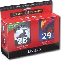 Lexmark 18C1590 ( Lexmark Twin-Pack #28, #29 ) Discount Ink Cartridges