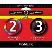 Lexmark 18C1737 ( Lexmark Twin-Pack #2, #3 ) Discount Ink Cartridges