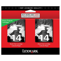 Lexmark 18C2228 ( Lexmark Twin-Pack #14 ) Discount Ink Cartridges