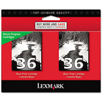 Lexmark 18C2236 ( Lexmark Twin-Pack #36 ) Discount Ink Cartridges