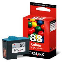 Lexmark 18L0000 ( Lexmark #88 ) Color Discount Ink Cartridge - High Capacity