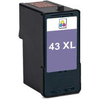 Lexmark 18Y0143 ( Lexmark #43XL ) Remanufactured Discount Ink Cartridge