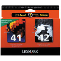 Lexmark 18Y0238 ( Lexmark #41/#42 ) Discount Ink Cartridge MultiPack