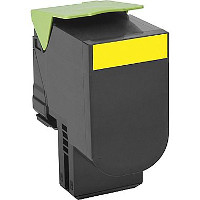 Lexmark 80C1SY0 Compatible Laser Cartridge