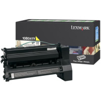Lexmark 10B041Y Yellow PREBATE Laser Cartridge