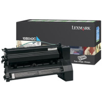 Lexmark 10B042C High Yield Cyan PREBATE Laser Cartridge