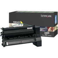 Lexmark 10B042Y High Yield Yellow PREBATE Laser Cartridge