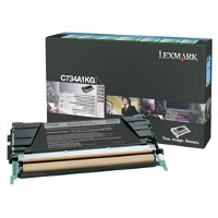 Lexmark C734A1KG Laser Cartridge