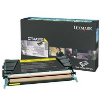 Lexmark C734A1YG Laser Cartridge