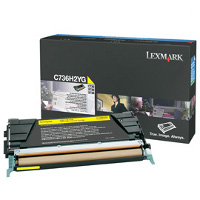 Lexmark C736H2YG Laser Cartridge