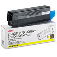 Okidata 42127401 Yellow Laser Cartridge
