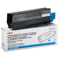 Okidata 42127403 Cyan Laser Cartridge