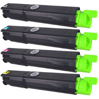 Okidata 43459301 / 43459302 / 43459303 / 43459304 Compatible Laser Cartridge Set