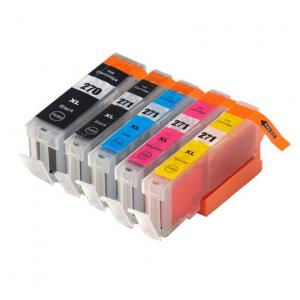 Remanufactured Canon PGI-270XL / CLI-271XL / CLI-271XL / CLI-271XL / CLI-271XL ( 0319C001-033XC001 ) Multicolor Discount Ink Cartridge
