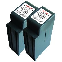 Pitney Bowes® 766-8 Compatible Discount Ink Cartridges (2/Pack)