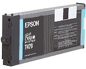 Epson T479011 Light Cyan Discount Ink Cartridge