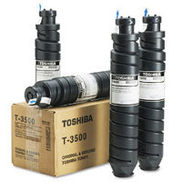 Toshiba T3500 Black Laser Cartridges (4/Pack)