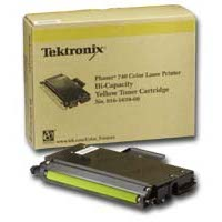 Xerox / Tektronix 016-1659-00 Yellow High Capacity Laser Cartridge