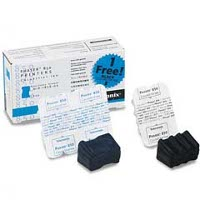 Xerox / Tektronix 016-1828-00 Discount Ink Sticks (2 Cyan / 1 Black)